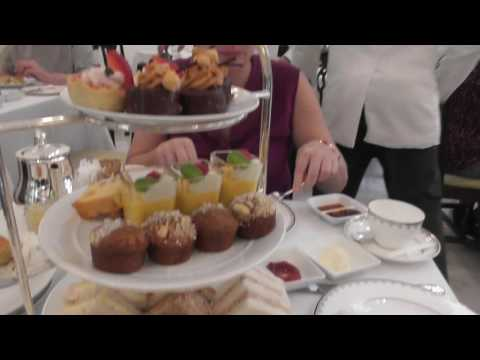 High Tea at the Raffles Hotel in Singapore