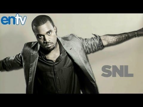 Kanye West New SNL Appearance For I Am A God Single