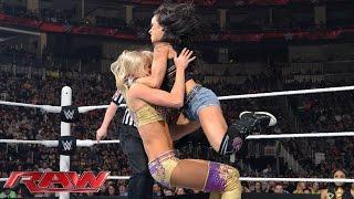 AJ Lee vs. Summer Rae: Raw, March 9, 2015