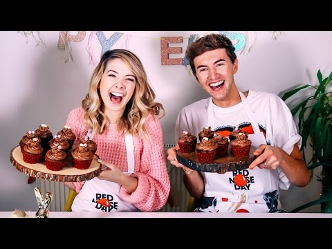 Thumbnail: How To: Easter Chocolate Cupcakes With Mark | Zoella