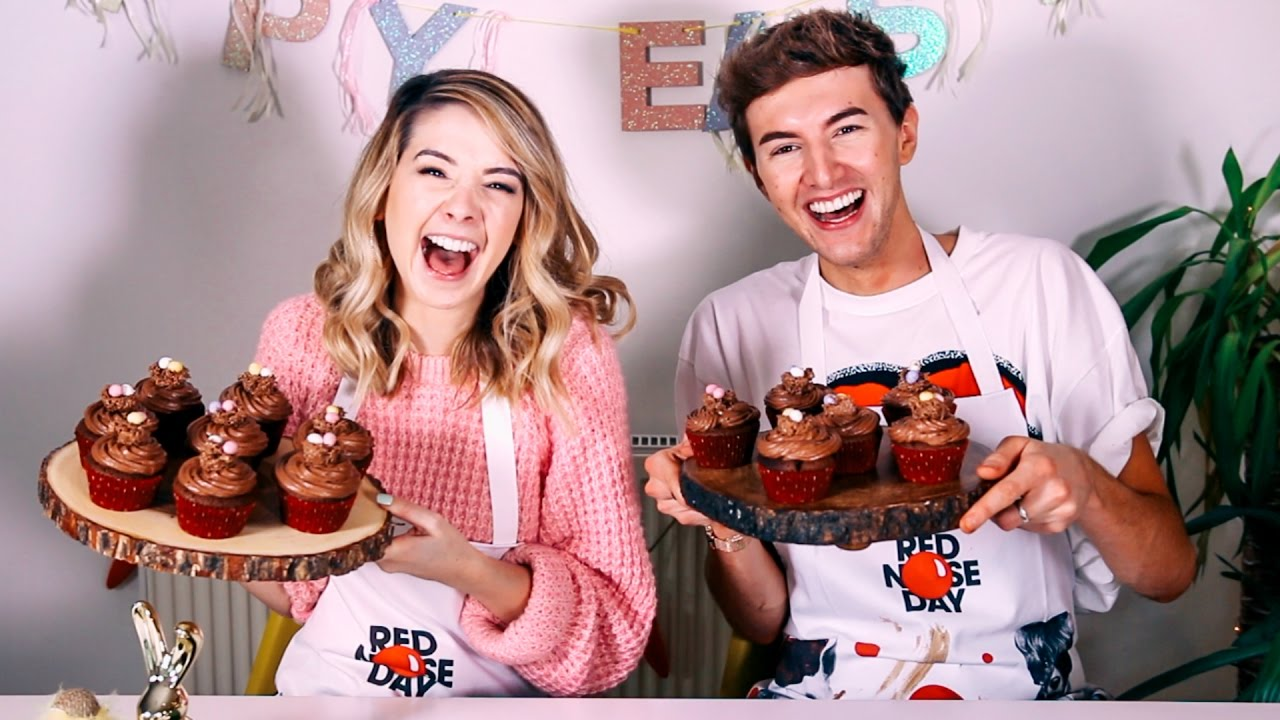 How To Easter Chocolate Cupcakes With Mark Zoella