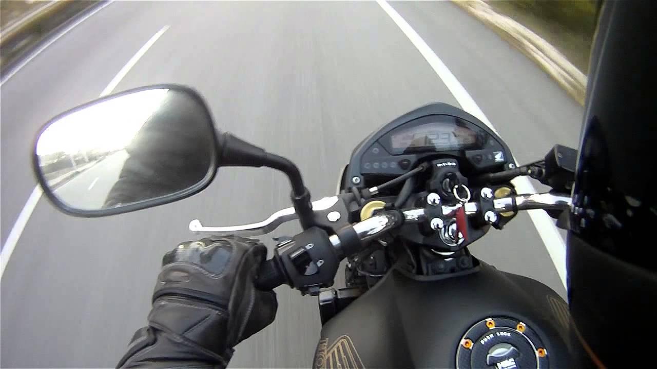 Honda CB600F Hornet 2012 0 to 200km/h - YouTube