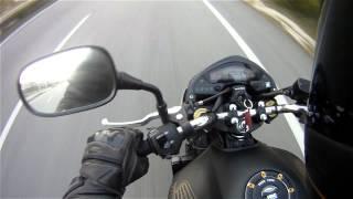 Honda CB600F Hornet 2012 0 to 200km/h