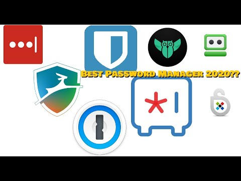 Best Password Manager Of 2020!
