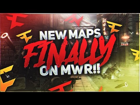 NEW MAPS FINALLY ON MWR