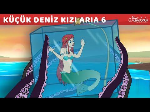 Adisebaba Çizgi Film Masallar - Küçük Deniz Kızı Aria 6 (YENİ) - Deniz Kızı ve S