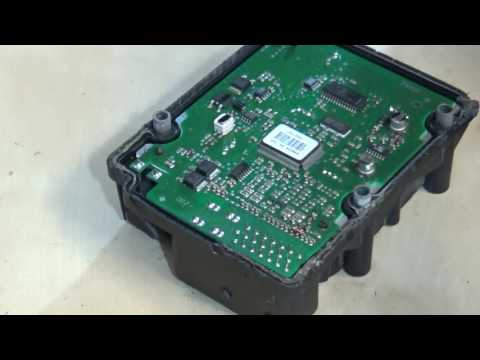 Removing and fixing the ABS Module from the Volvo C70