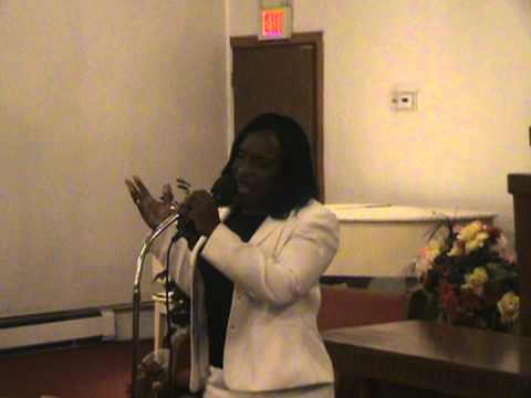 Bridgette Bovell performed: The day He Wore My Crown. 10-22-11.