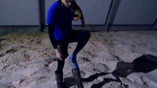 """Первая игра в волейбол в центре пляжного спорта """"Песок"""""""