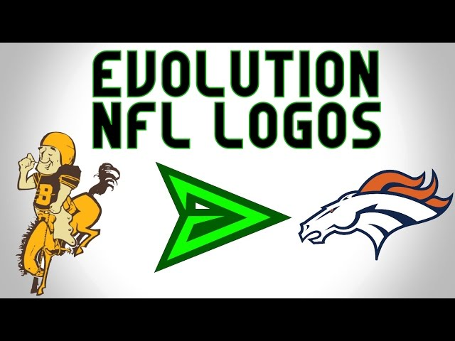 The Evolution of NFL logos