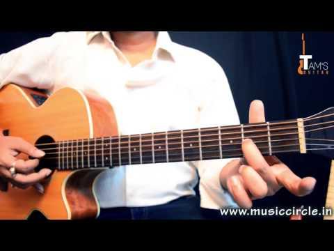 Chura liya hai tumne (Tabs + solo ) guitar lesson for beginners  |www.tamsguitar.com