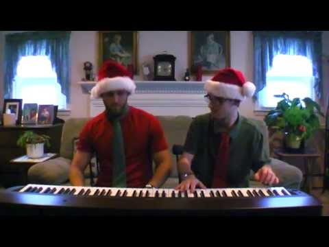 Carol of the Bells (Ukrainian Bell Carol) | Frank & Zach Piano Duets