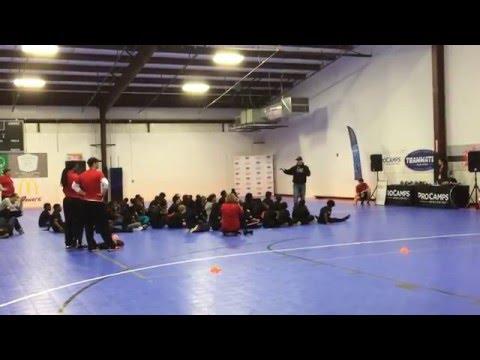 Garth Brooks at Teammates ProCamp event in Charleston