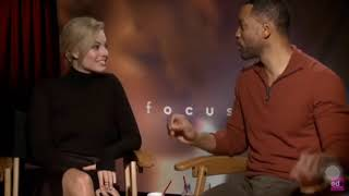 Margot Robbie FUNNY! Contradicts herself!