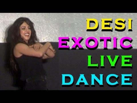 Priyanka Chopra at her 'EXOTIC' song launch