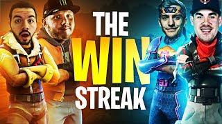 THE WIN STREAK W/ NINJA, COURAGE & TREVOR MAY!! | Fortnite Battle Royale Highlights #187