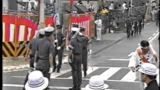 ¥だんじりが倒れます¥祭り 激走 激突 ど迫力 平成六年版岸和田だんじり祭り