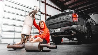 Making the F150 Raptor sound like a RAPTOR Should - AWE Exhaust Install