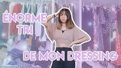 ÉNORME TRI DE MON DRESSING (c'était si long)