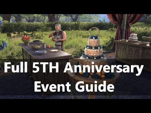 Celebrate 5 Years of ESO Event!!! - Learn ESO