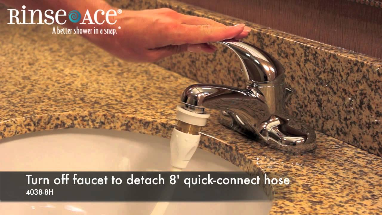 faucet aerator with on off switch. Commercial Hotel Faucet Aerator  Cleaning Hose By Rinse Ace