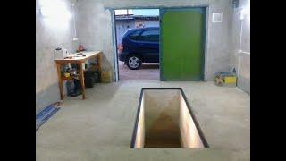 как сделать яму в гараже если грунтовые воды близко