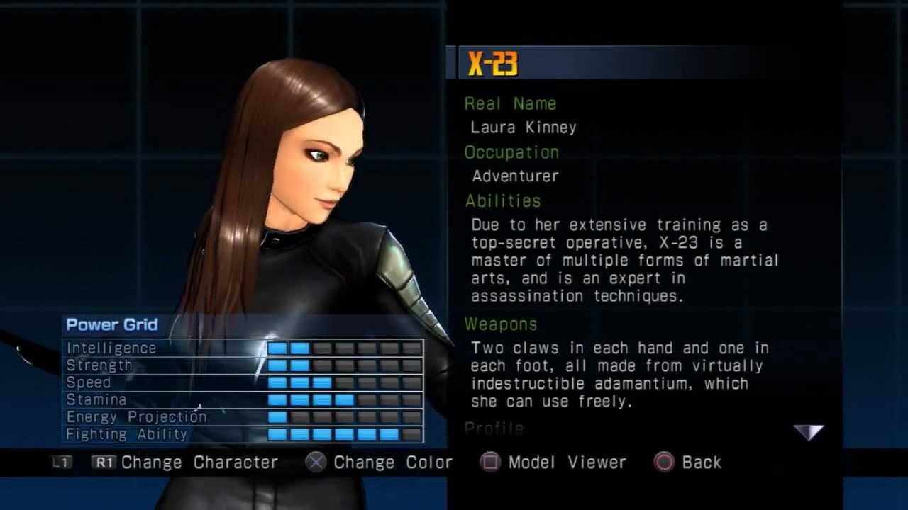 Ultimate Marvel vs Capcom 3 Alternate Costume ~ X-23 - YouTube X 23 Costume