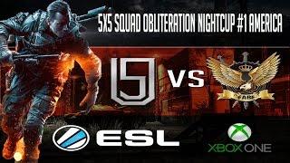 BF4 - NARRAÇÃO 49 - ESL Squad Obliteration NightCup #1 America - Unity vs FABE