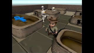 Mummies. Videogame for Android. Gameplay