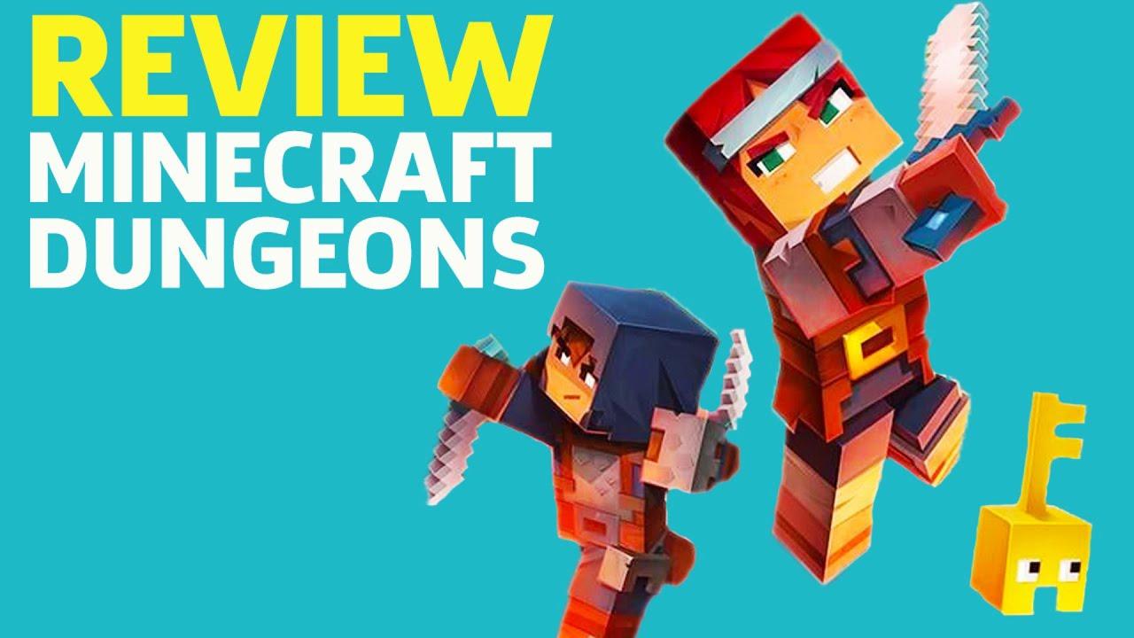 Minecraft Dungeons Review - GameSpot