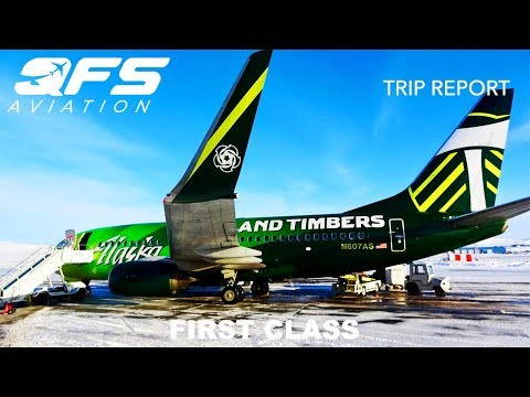 TRIP REPORT | Alaska Airlines - 737 700 - Anchorage (ANC) to Nome (OME) | First Class
