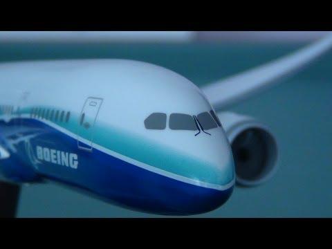Boeing 787-8 Dreamliner 1:200 Scale Model