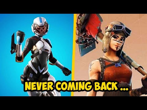 10 Rare Fortnite Skins Never Coming Back!
