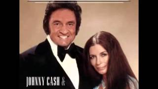 Johnny Cash  & June Carter -- No Need To Worry