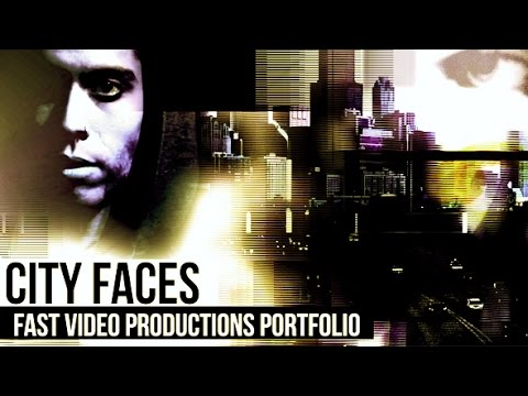 City Faces - Fast Video Productions Porfolio | After Effects template