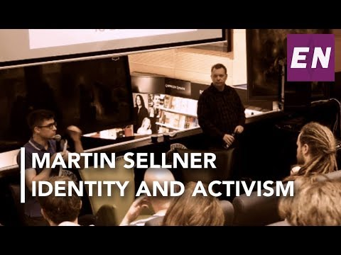 Martin Sellner (Identitäre Bewegung Österreich) speech at Eldorado bokhandel