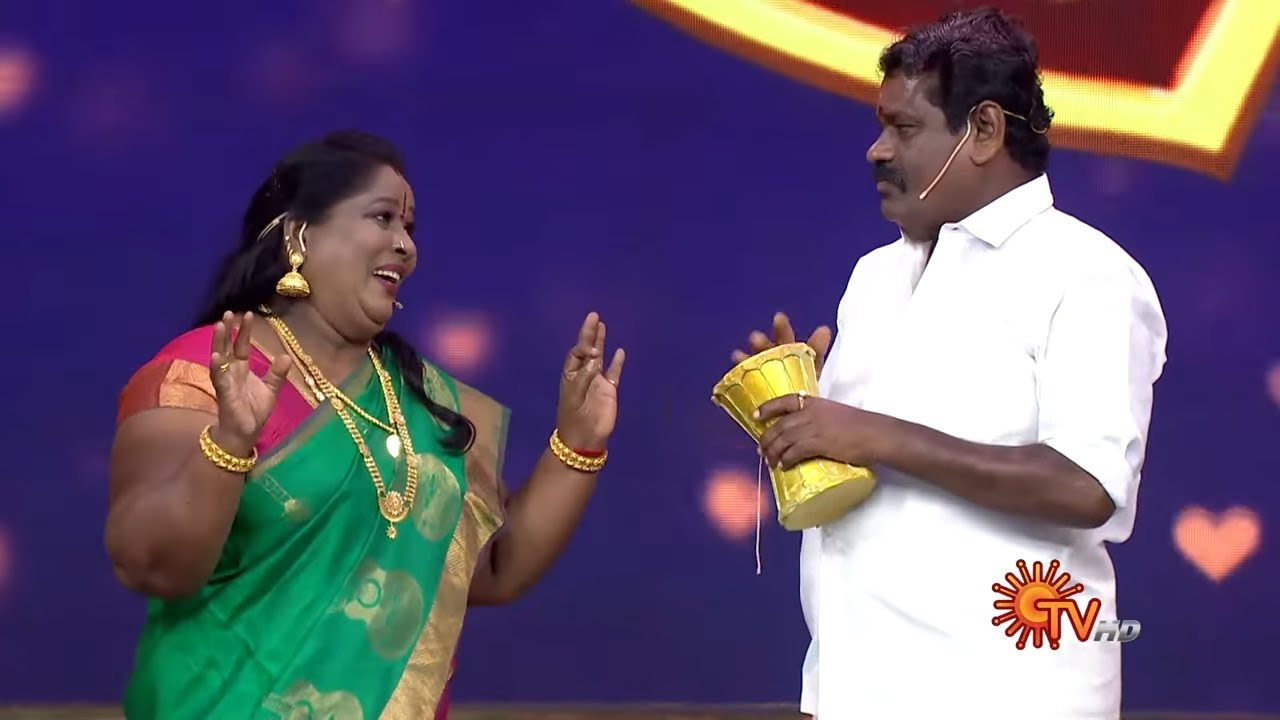 Rowdy Baby - Preview |  Celebrity Game Show | Watch  Full show on SUN NXT |  Sun TV
