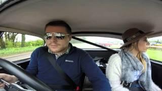 Austin Healey Classic Car Road Trip