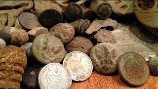 Metal Detecting Discovers Long Lost Town Site. You Won't Believe What They Find!