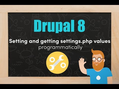 Setting and getting settings.php variables programatically in Drupal 8 thumbnail