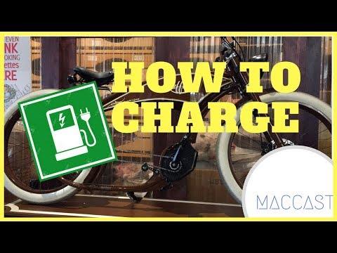 How to charge Ruffian Electric Bike