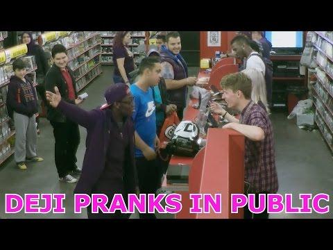 Deji Pranks In Public