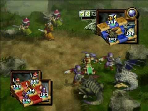 Ogre Battle 64 - Dragoon + 2 venerable dragons