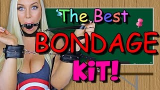THE BEST BONDAGE KIT! - Sex Ed with Tara #34 (Paloqueth Bondage Set)