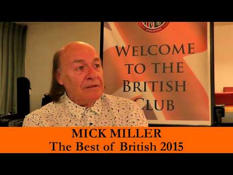 Best of British 2015 - Mick Miller with Robin Stienberg