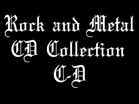 Rock & Metal CD Collection #2