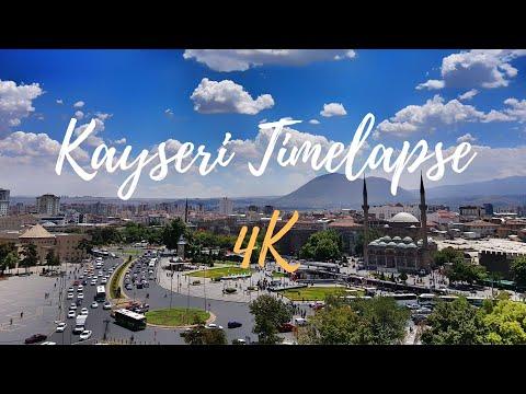 Kayseri timelapse [TURKEY] in 4K - 2017