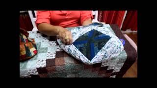 Ana Cosentino: Como colocar alça, zíper e forro na bolsa