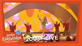 Anne Gadegaard - Arabiens Drøm - Denmark - 2003 Junior Eurovision Song Contest