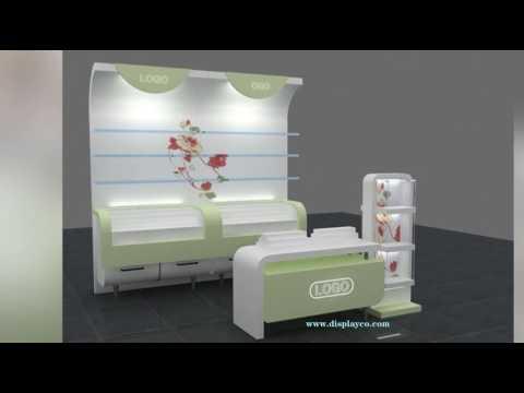 custom made displays Cosmetic display shelf,new design display stand shelf cosmetic show rack